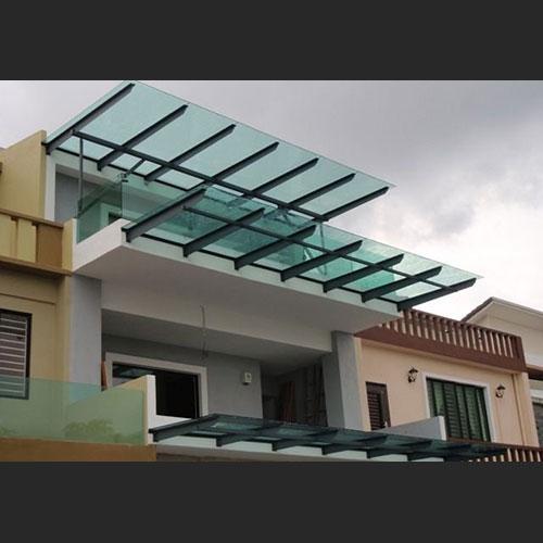Barandas acero inoxidable vidrios curvos zona oeste zona for Techos de galerias exteriores